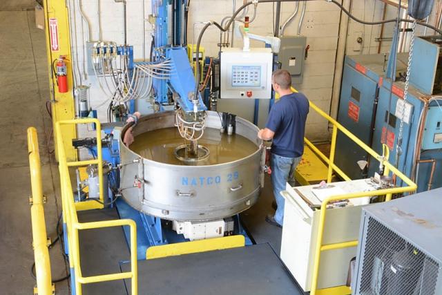 NATCO Induction Hardening Machine