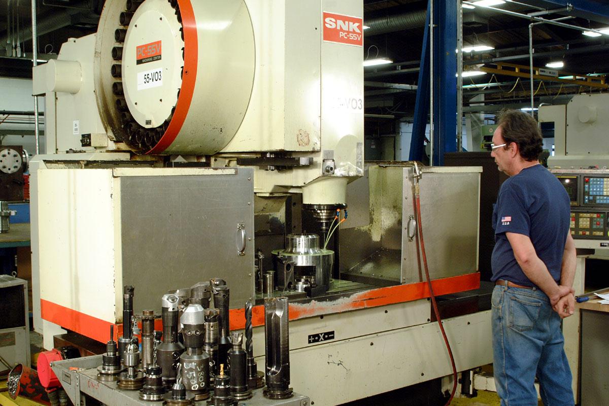 SNK Vertical CNC Milling Machine