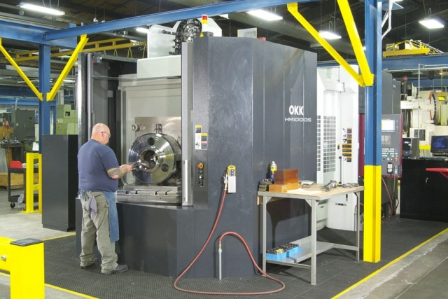 OKK Horizontal Machining Center